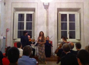 Trio d'archi e cantanti