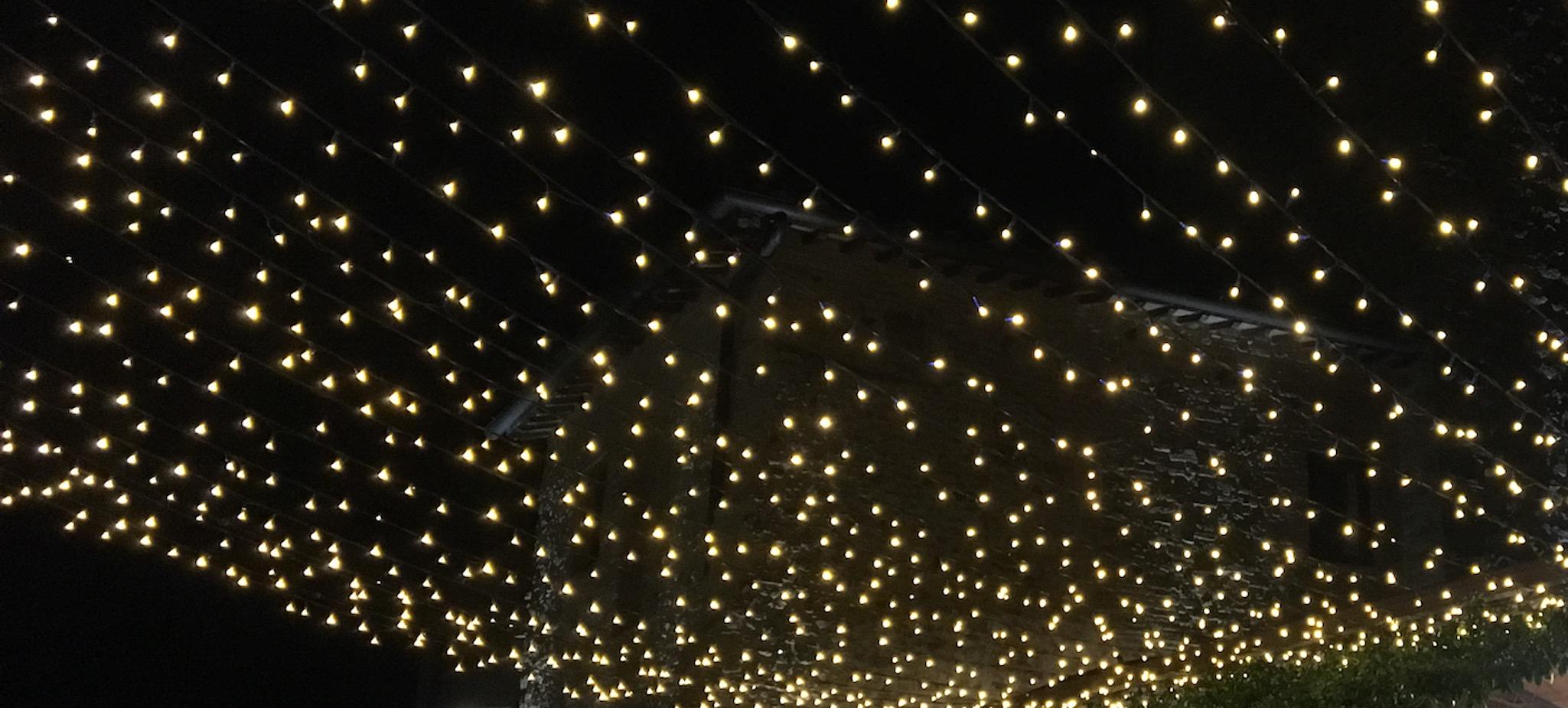 Fairy Lights at Borgo Petrognano